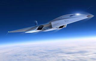 Virgin Galactic Mach-3-Jet