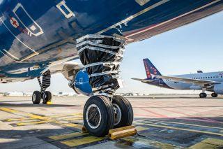 Eingemottete Brussels-Airlines-Flotte