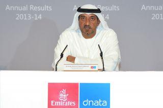 Emirates-Chef Scheich Ahmed bin Saeed Al-Maktoum