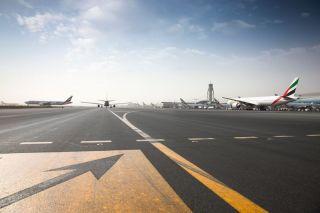 Emirates am Dubai International Airport