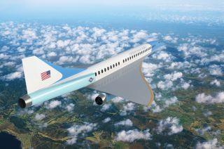 Auch Boom will die Air Force One der Zukunft bauen