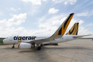 Tigerair Airbus A320 mit Sharklets