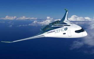 Airbus ZeroE Blended Wing Body-Konfiguration