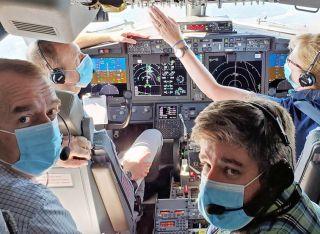 EASA-Mitarbeiter haben die 737 MAX Mitte September getestet