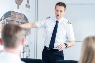 Pilotentraining bei Lufthansa