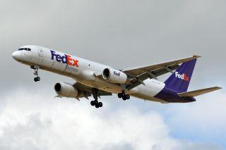 Fedex Boeing 757