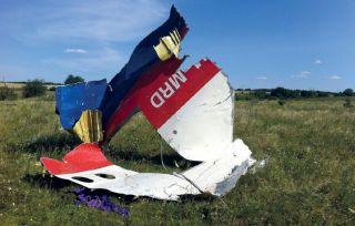 Wrackteil nach Flug MH17