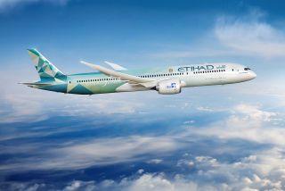 Etihad Boeing 787-9: der Greenliner