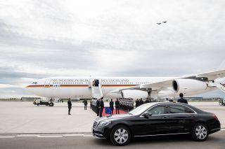 Die Flugbereitschaft erprobte Mitte Oktober den Besuch eines fiktiven königlichen Besuches am BER