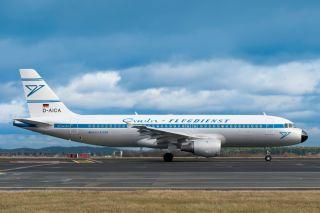 Condor Airbus A320 Retrojet