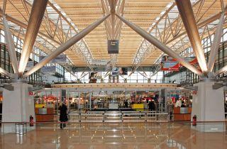 Terminal 1 des Hamburger Flughafens