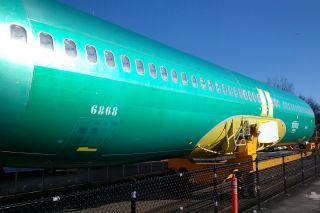 Boeing 737 Rumpf