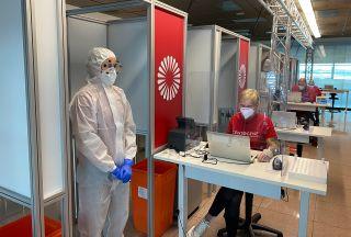 Lufthansa startet Probephase mit Coronavirus-Schnelltests