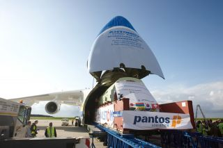 Antonov 225 am Flughafen Hahn