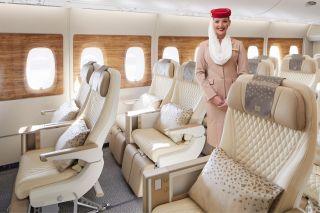 Emirates Airbus A380 Premium Economy