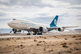 GE9X an Boeing 740-400 Testbed