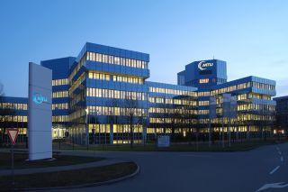 Hauptgebäude der MTU Aero Engines in München