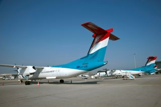 Luxair Bombardier Q400