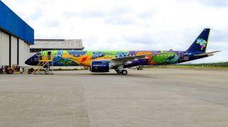 Azul Embraer E195-E2 Ararinha Azul