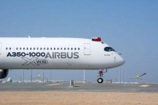 Airbus A350-1000 in Maskat