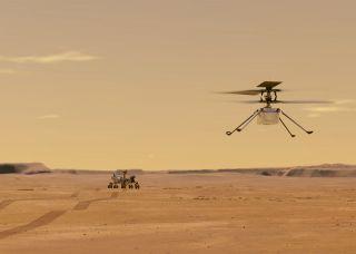 Mars-Minihelikopter Ingenuity