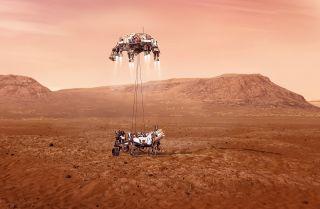 Mars-Rover Perseverance