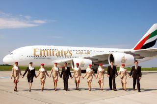 Emirates Airbus A380 Crew