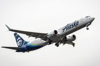 Alaska Airlines Boeing 737 MAX 9