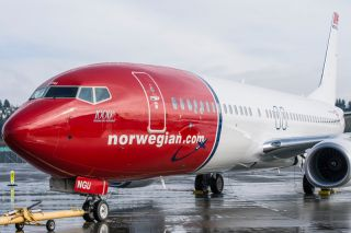 Norwegian Air Shuttle 737-800 mit Sky Interior