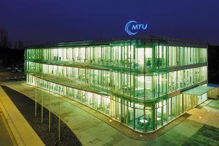 Bürogebäude der MTU Maintenance Berlin-Brandenburg