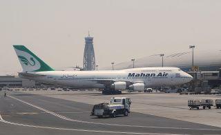 Mahan Air Boeing 747