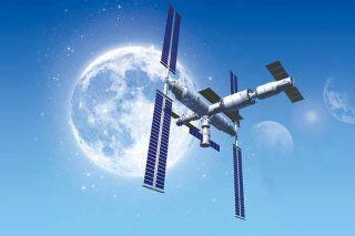 China entwickelt eine Raumstation