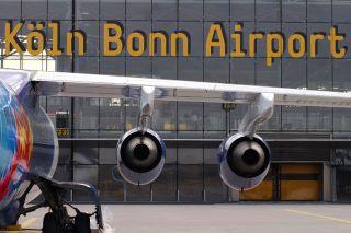 Vorfeld Flughafen Köln/Bonn
