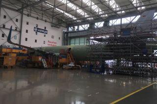 Airbus A320-Produktion in Finkenwerder