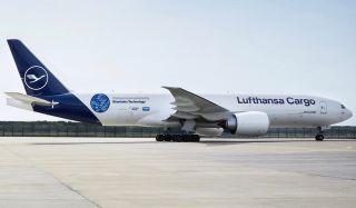 Lufthansa Cargo Boeing 777F aeroSHARK