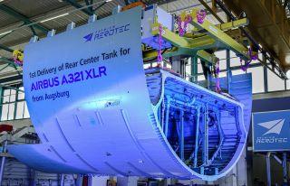 Premium Aerotec Airbus A321XLR-Rumpftank