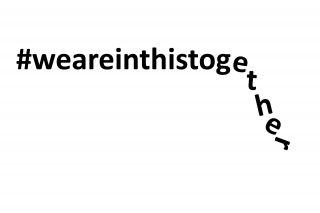 Unter dem Hashtag weareinthistogether hat die Lufthansa zu Beginn der Krise zur Einheit aufgerufen
