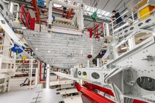 A321XLR in der Strukturmontage