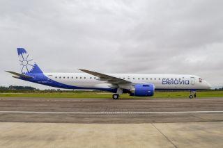 Belavia Embraer E195