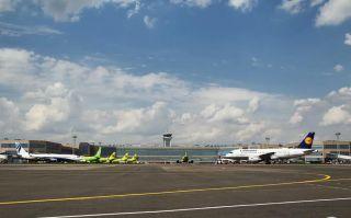 Lufthansa am Moskauer Domodedovo Airport