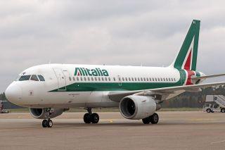 Alitalia Airbus A319