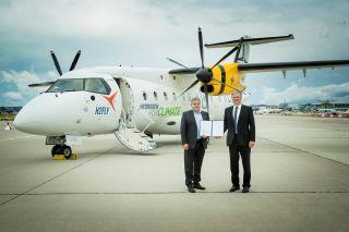 Hy2Fly und die Deutsche Aircraft wollen bis 2025 eine Dornier 328 mit Brennstoffzelle in die Luft bringen