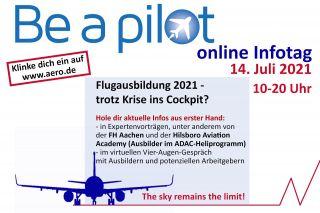 Be a pilot Online-Infotag 2021