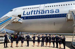 Lufthansa Boeing 747-8I im Retro-Look