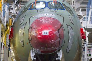 Airbus A350-1000 in der Endmontage