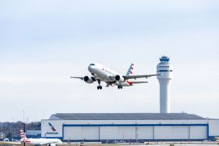 American Airlines in Charlotte