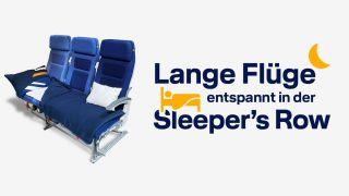 Lufthansa Eco-Schlafcouch