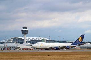 Boeing 747-47UF (SCD) der Global Supply Systems