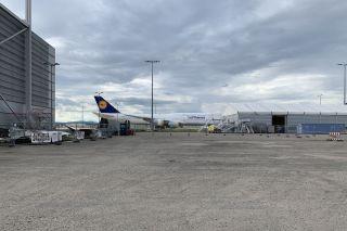 Geparkte Lufthansa Boeing 747-8 in Frankfurt