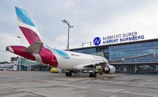 Eurowings am Flughafen Nürnberg